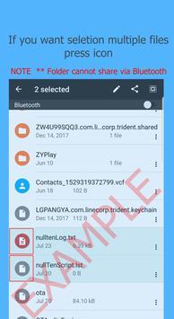 Bluetooth Files Transfer screenshot 1
