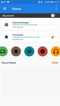 Bluetooth ファイル転送 スクリーンショット 1
