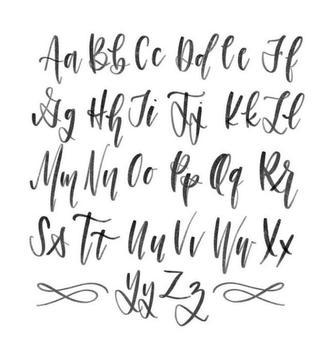 Modern Calligraphy Tutorials poster