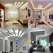 Modern Ceiling Lights icon
