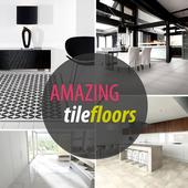 Modern Home Tile Design icon
