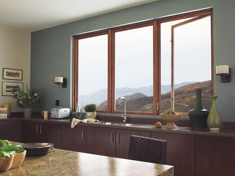 Modern Home Window Design poster