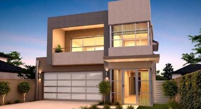 Modern Minimalist Home Design poster