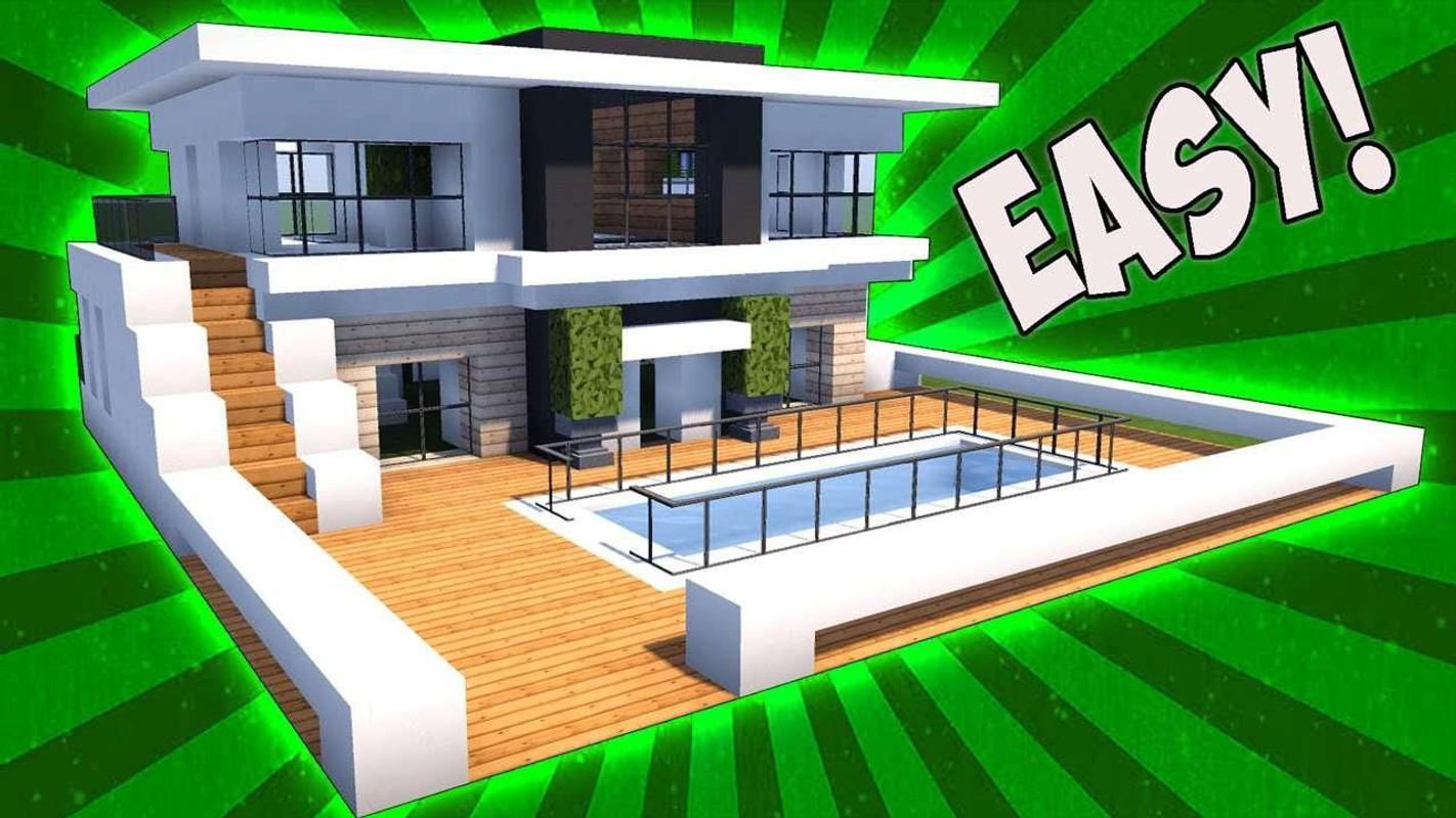 Modernes Haus von Minecraft für Android - APK herunterladen