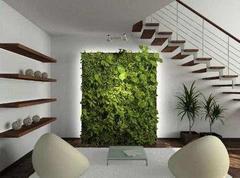 Modern Indoor Garden poster