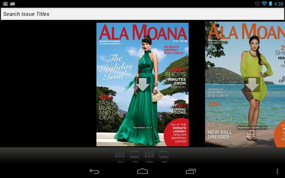 Ala Moana Magazine Korean poster