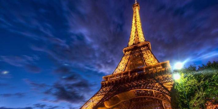 Eiffel Tower Paris LWP poster