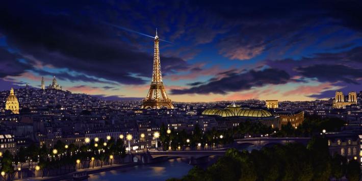 Eiffel Tower Paris LWP screenshot 1