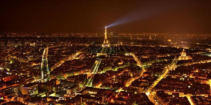 Night Paris Lights LWP screenshot 6