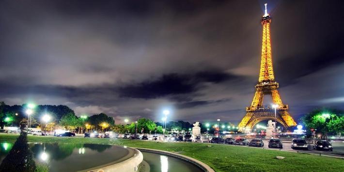 Night Paris Lights LWP poster