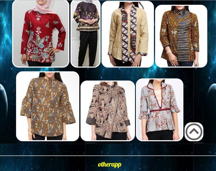 Desain Baju Batik Wanita Modern For Android Apk Download