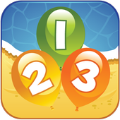 Number Balloon Pop icon