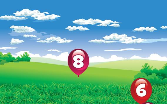 Number Balloon Pop screenshot 12