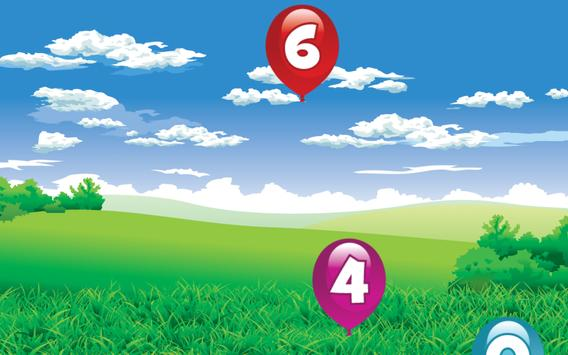 Number Balloon Pop screenshot 4