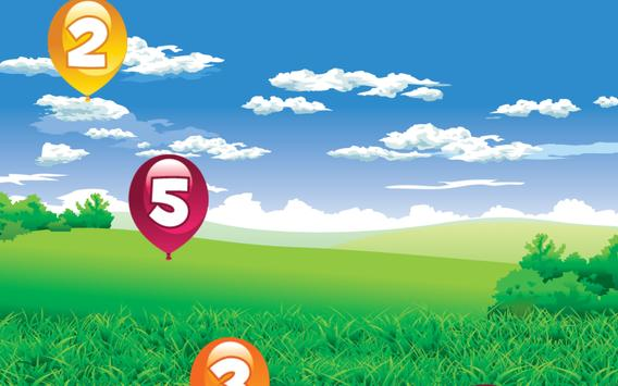 Number Balloon Pop screenshot 5