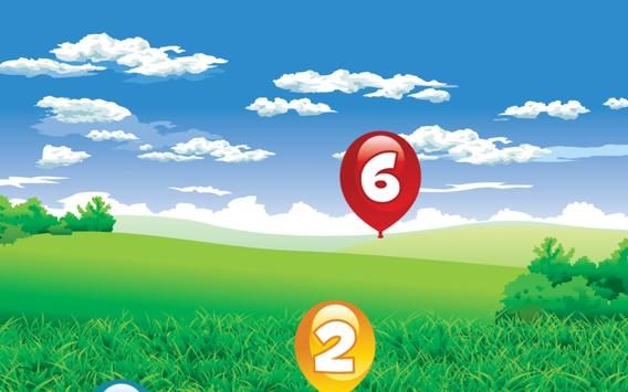 Number Balloon Pop screenshot 6