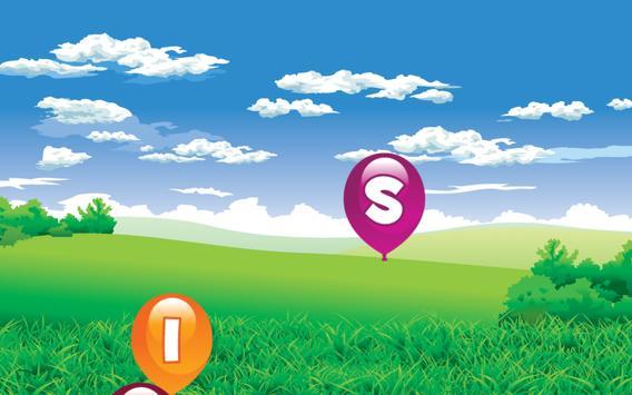 Alphabet Balloon Pop apk screenshot