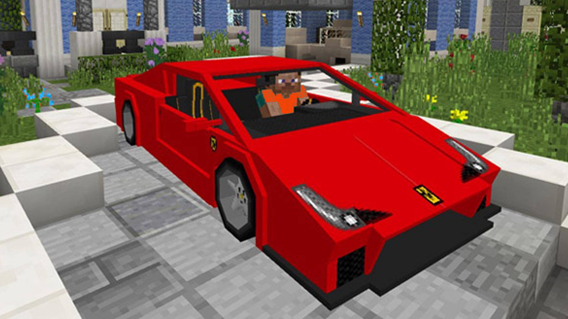 Cars Mod For Minecraft For Android Apk Download