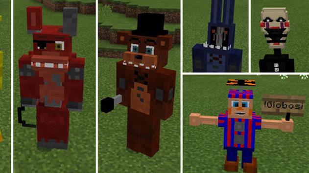Freddy's Mod FNAF for Minecraft Pocket Edition screenshot 6