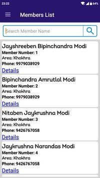 Modh Modi Samaj Parivar Surksha Yojna screenshot 4