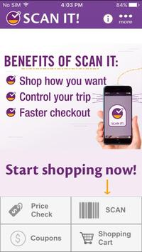 Stop & Shop SCAN IT! Mobile poster