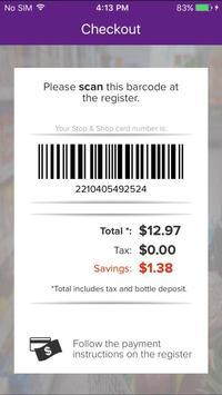 Stop & Shop SCAN IT! Mobile apk screenshot