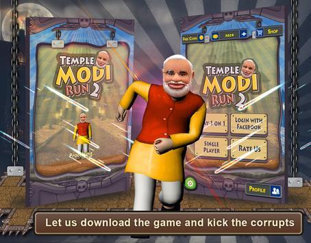 Temple Modi Run 2 screenshot 3