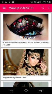 Bridal Makeup Videos HD apk screenshot