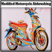 Modified Motorcycle Airbrushing icon