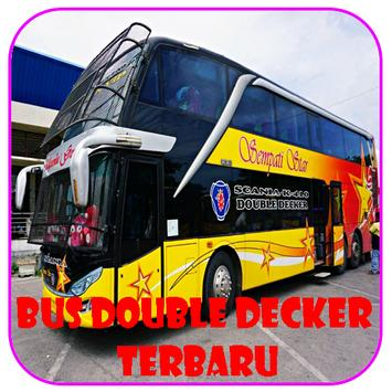 Modifikasi Bus Double Decker poster