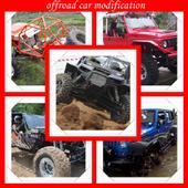 offroad car modification icon
