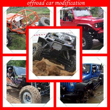 offroad car modification poster