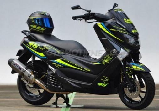100+ Modification Yamaha NMAX screenshot 21