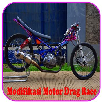 Modifikasi Motor Drag Race poster