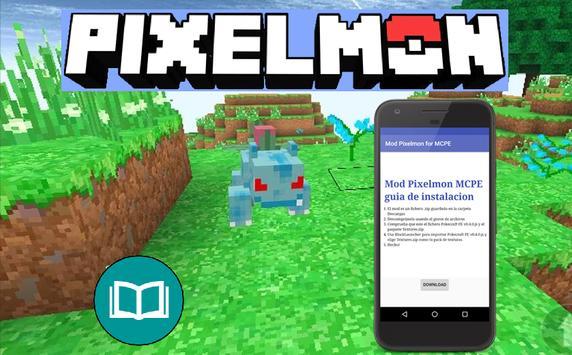 Mod Pixelmon MCPE apk screenshot