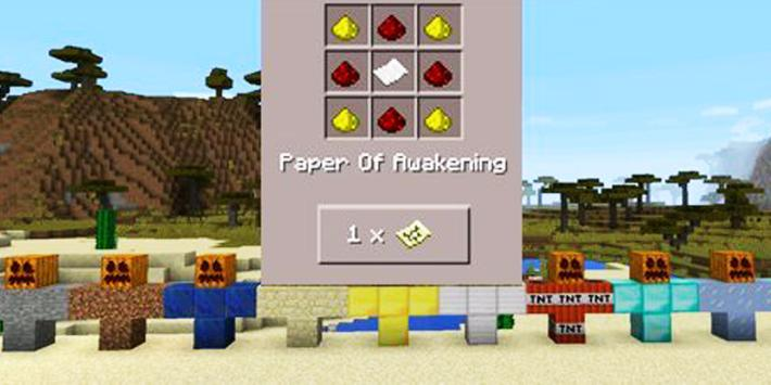 Fighting Golem Minecraft mod apk screenshot
