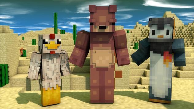 Animal Skins For Minecraft PE APK Download Free Entertainment APP - Skins para minecraft pe de animales