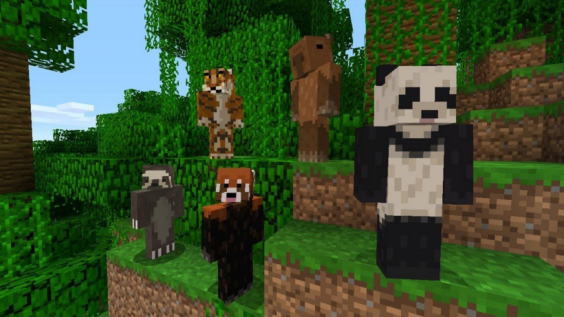 Animal Skins for Minecraft PE para Android - APK Baixar