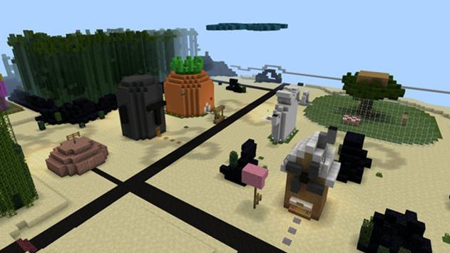 Bikini Bob Maps Minecraft PE Cartaz