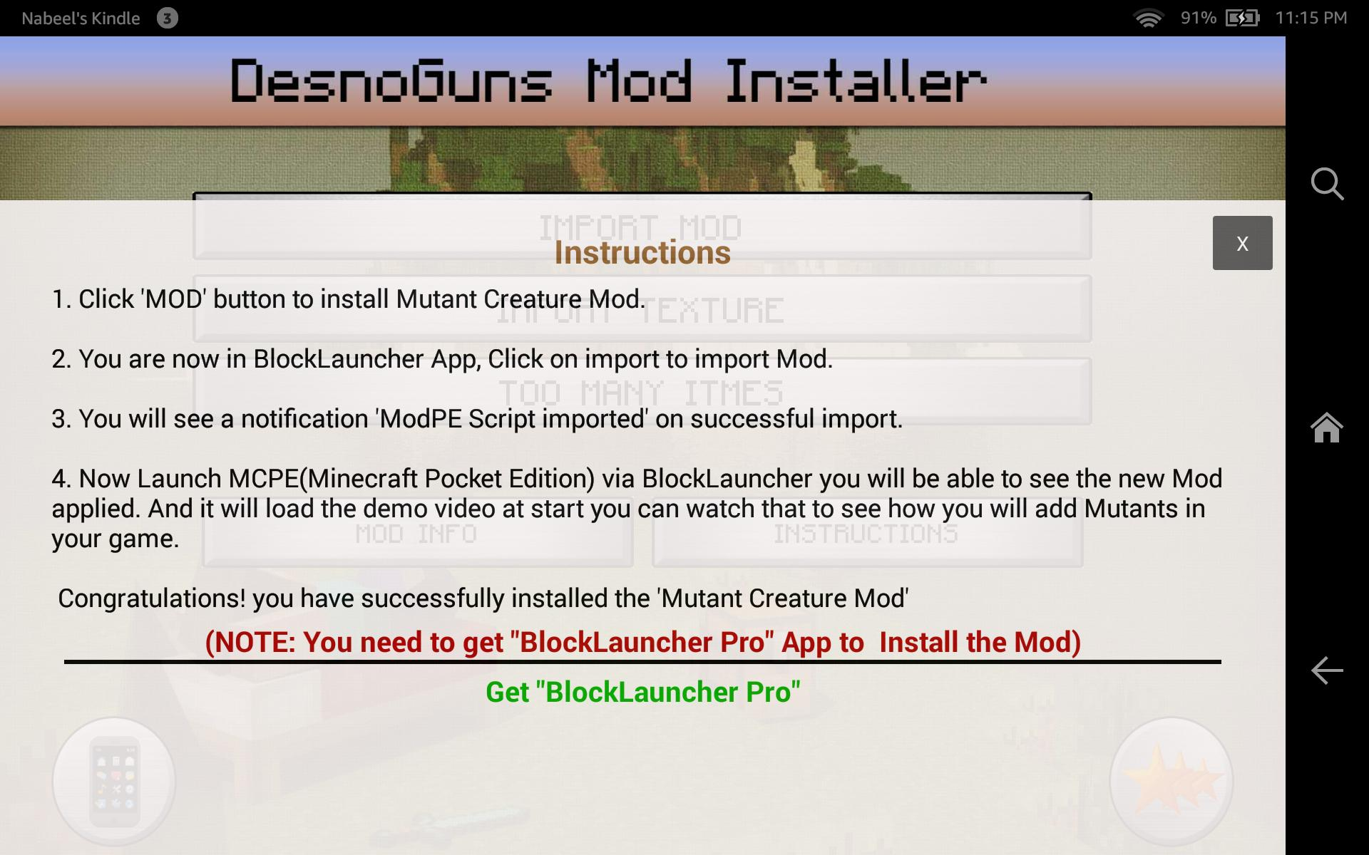 DesnoGuns Mod for Minecraft PE for Android - APK Download