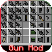 Gun Mod: Guns in Minecraft PE icon