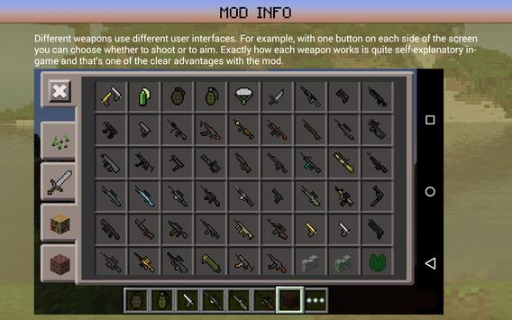 Gun Mod: Guns in Minecraft PE screenshot 2