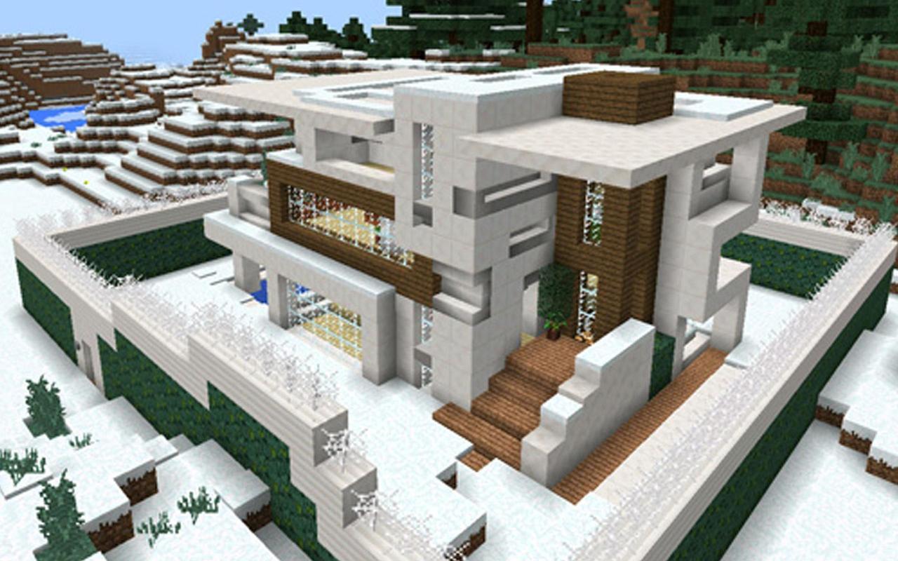Карты с красивым домом на майнкрафт пе