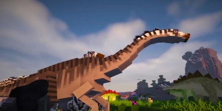 JurassiCraft Dinosaurs Mod For Minecraft for Android - APK