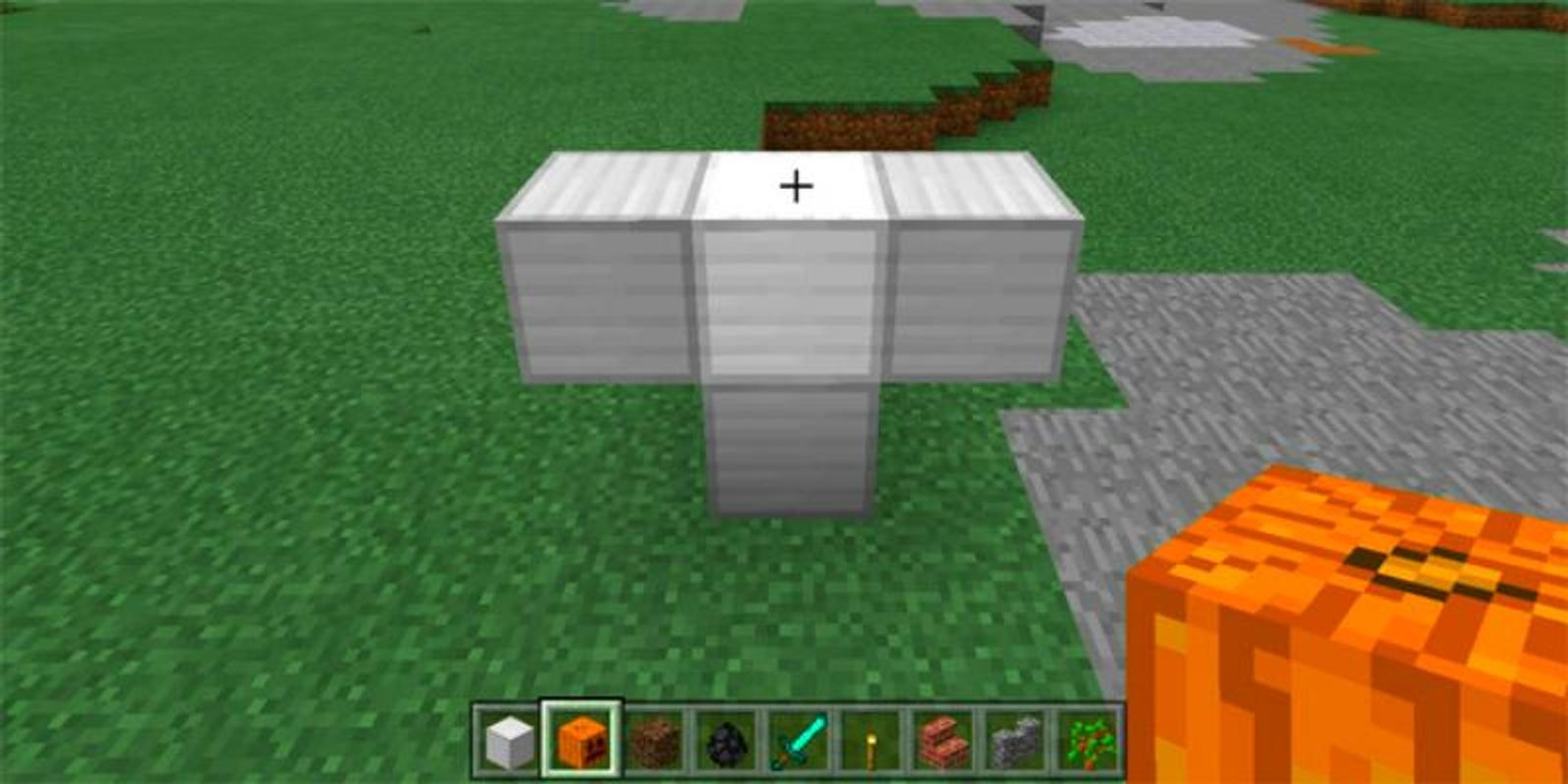 how to make herobrine in minecraft pe