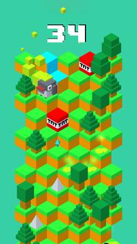 Down Crossy - Running Cows apk screenshot