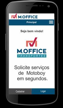 M.OFFICE Transportes - Cliente apk screenshot