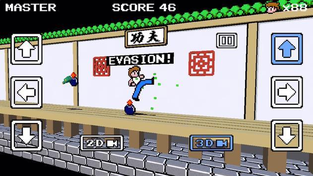 KungFu-Rush3D - NES-like Game poster