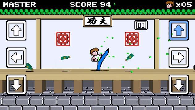 KungFu-Rush3D - NES-like Game apk screenshot