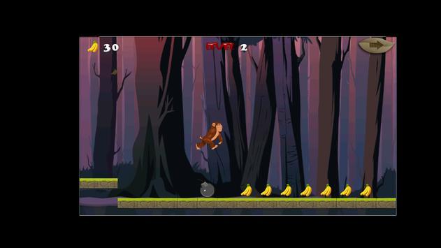 Jungle Monkey Run Adventure 2 apk screenshot
